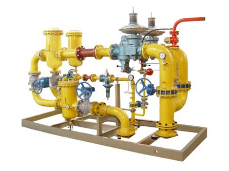 JG Series pressure regulating stations for boiler-Hengshui Runfeng